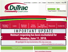 Tablet Preview of dutrac.info